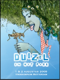 Duizel in het park