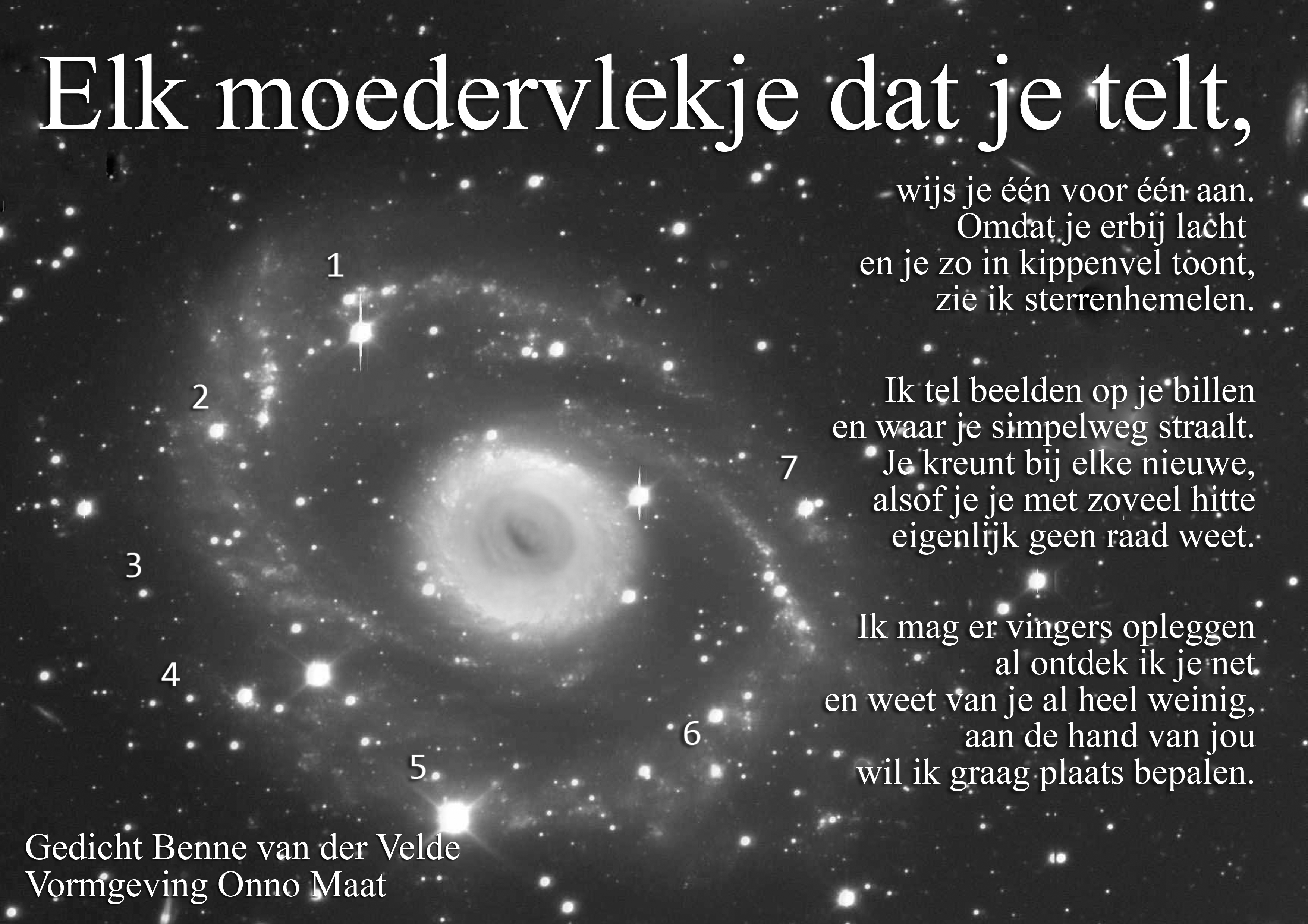 elk moedervlekje - benne van der velde