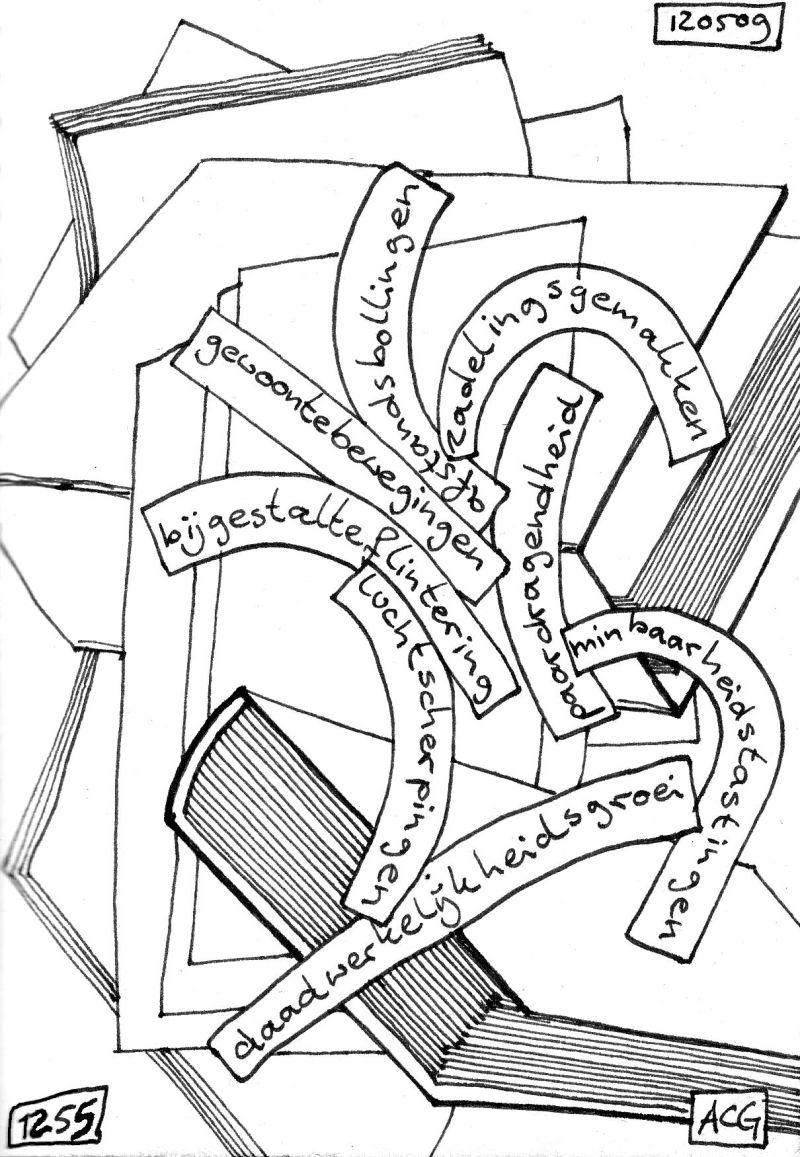 Poëzietekening 12/05/2009 A.C.G. Vianen
