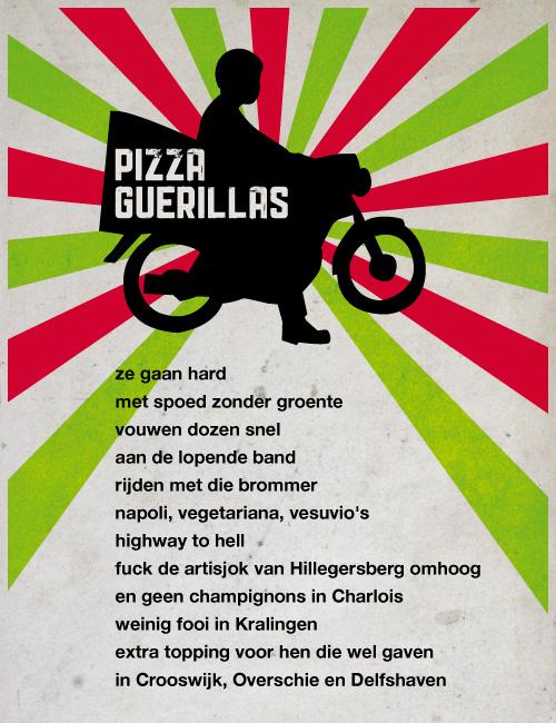 pizza-guerillas - edwin de voigt