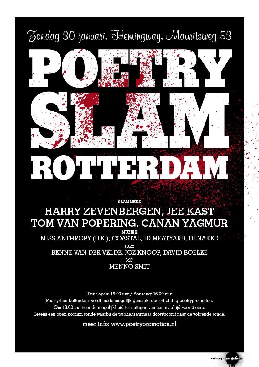 poetry slam januari rotterdam