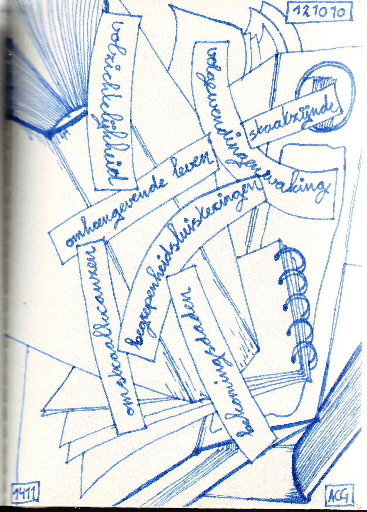 poëziecartoon 12/10/2010 acg vianen