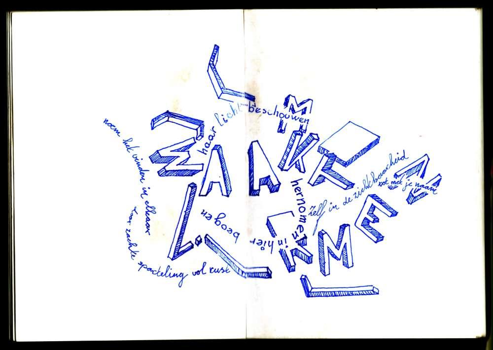 poëzietekening 04/06/2013 acg vianen